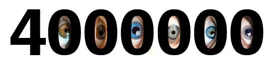 4000 000 kartų per metus sumirksi žmogus.